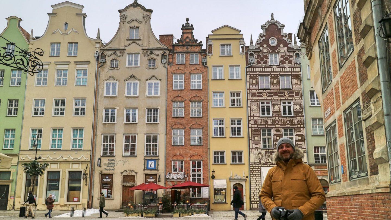 Gabled buildings Gdansk, Poland
