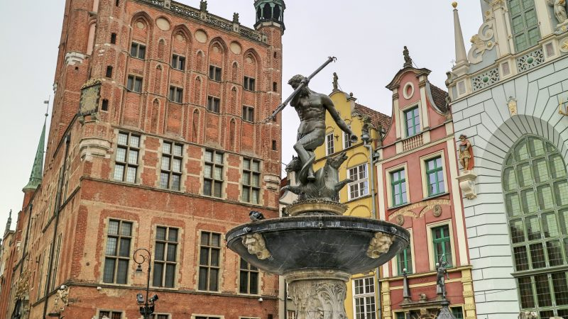 Neptune Statue, Gdansk, Poland