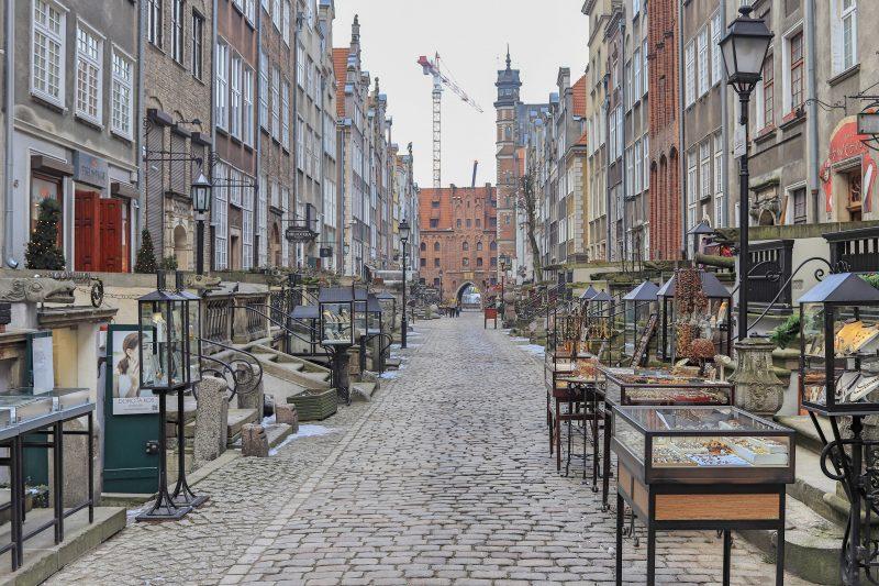 Mariacka Street, Gdansk, Poland