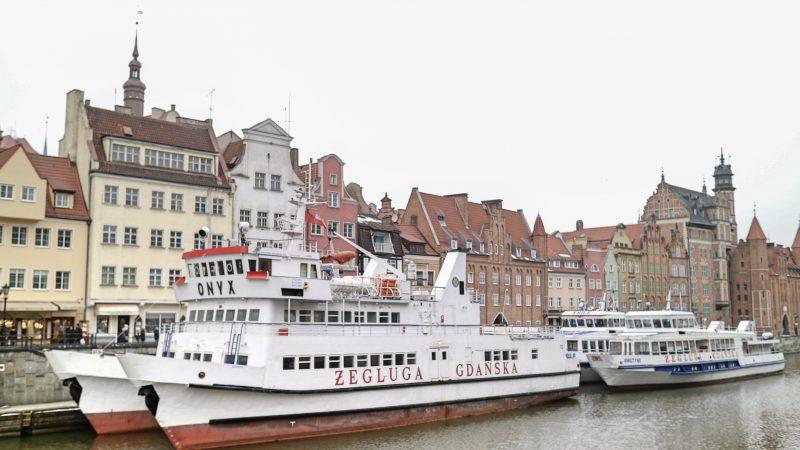 Boat in Gdansk, Poland
