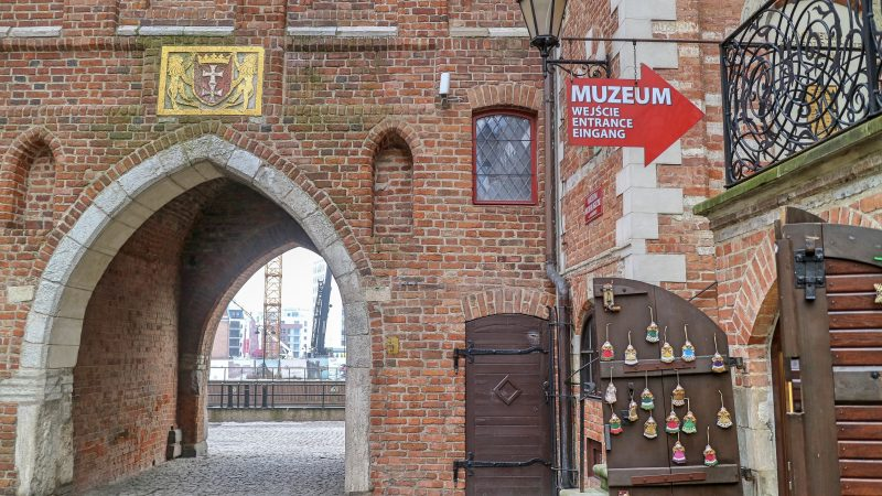 Museum in Gdansk, Poland