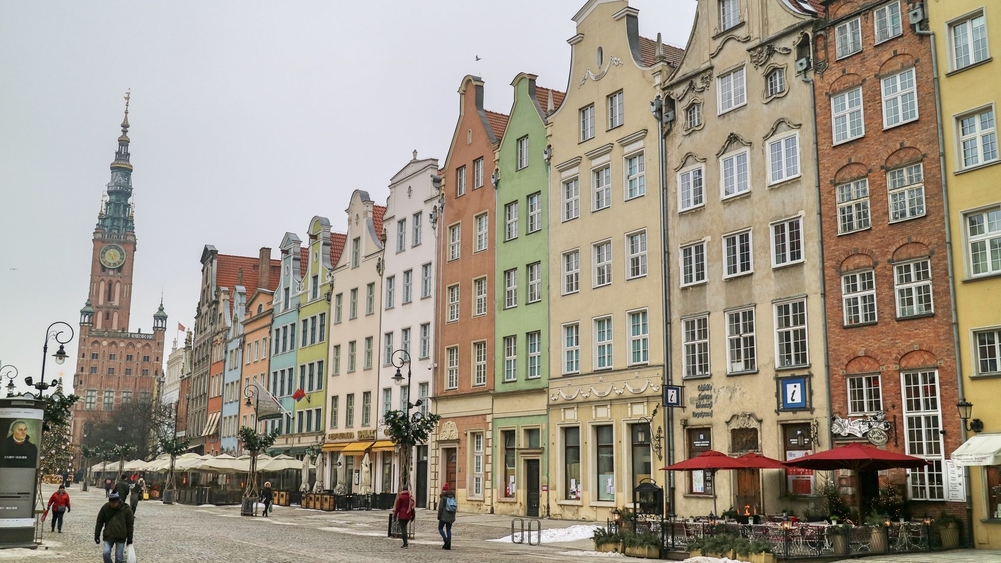 Gdansk Buildings, Poland