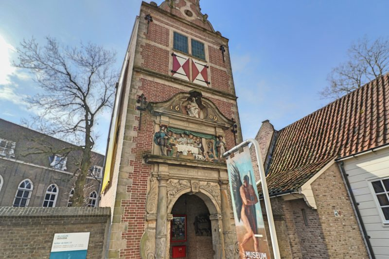 Gate to Gouda Museum, Gouda, the Netherlands