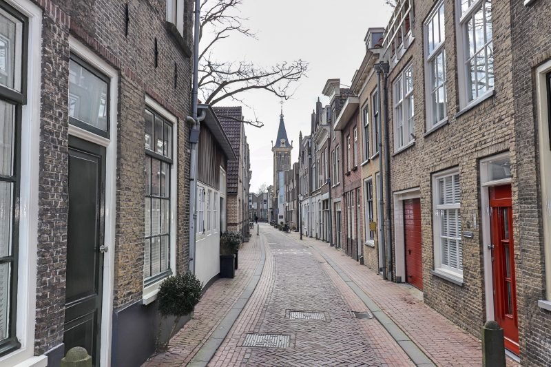 Gouda Side Street, The Netherlands