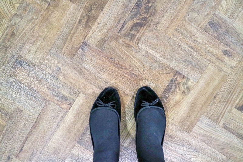 Flooring at The Hideout Hotel, Hull