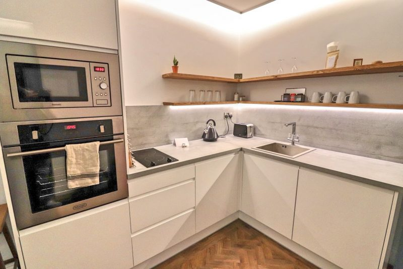 Kitchen at the Hideout Hotel, Hull