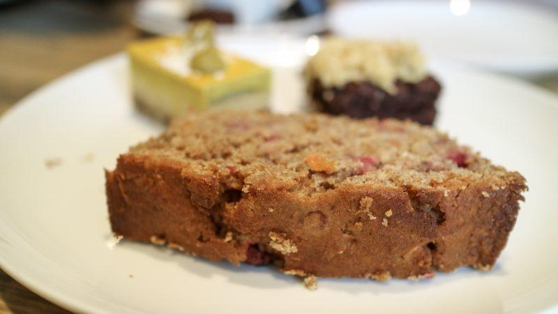 Vegan Dessert at Curcuma, Gouda, The Netherlands