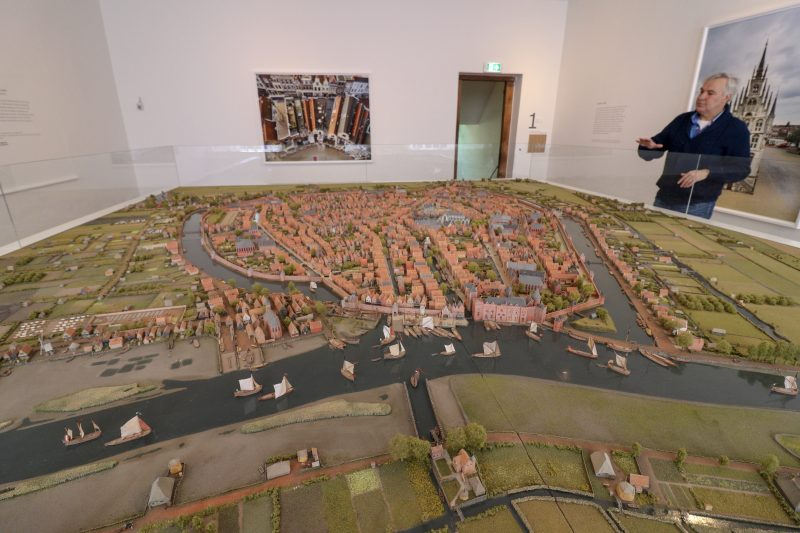 Gouda Model at The Gouda Museum, Gouda, The Netherlands