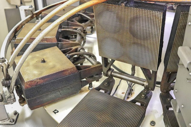 Stroopwafel press, Gouda, The Netherlands