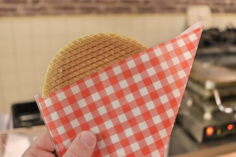 Finished Stroopwafel, Gouda, The Netherlands
