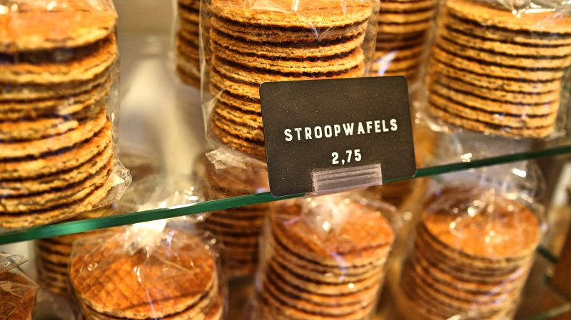 Stroopwafels in Gouda, The Netherlands