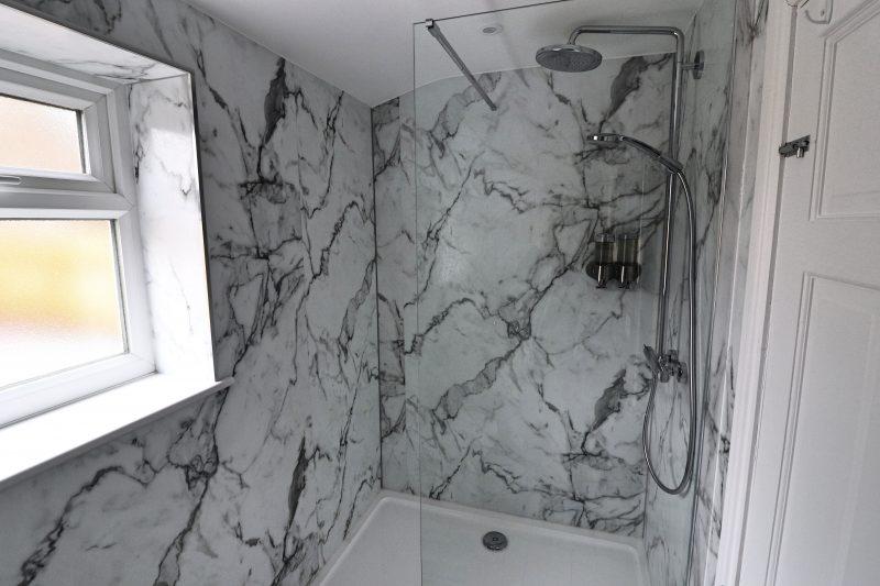 Artists' Corner Shower Room, Harrogate