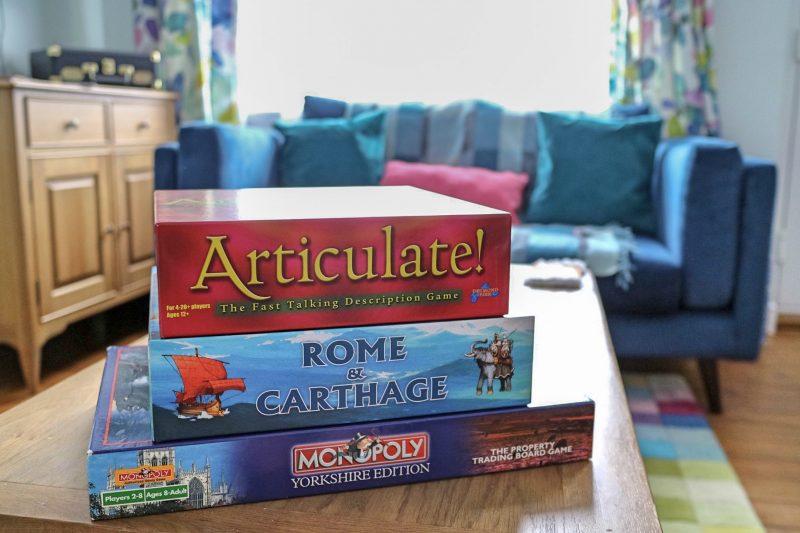 Games at Artists' Corner, Harrogate