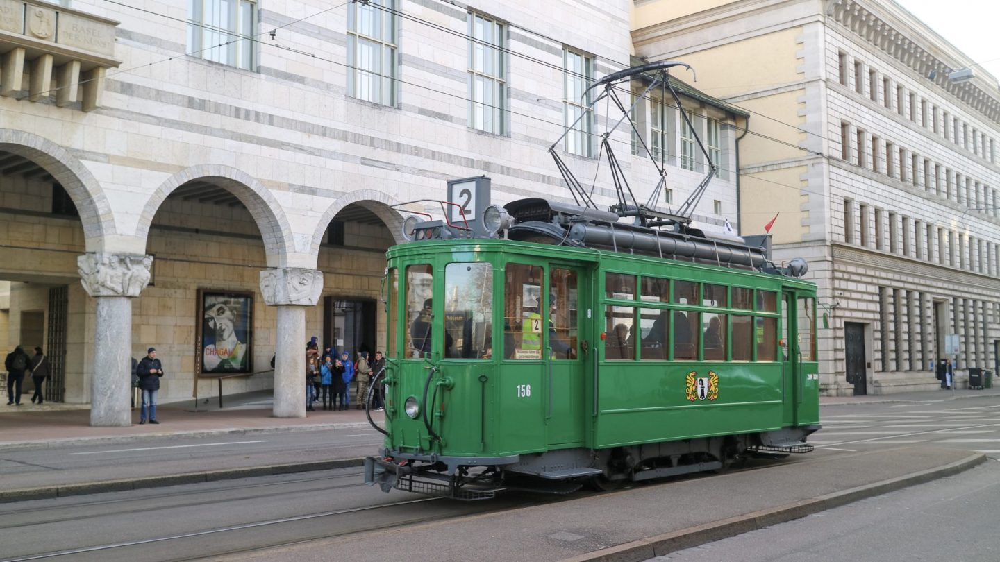 Tram in Basel, Switzerland
