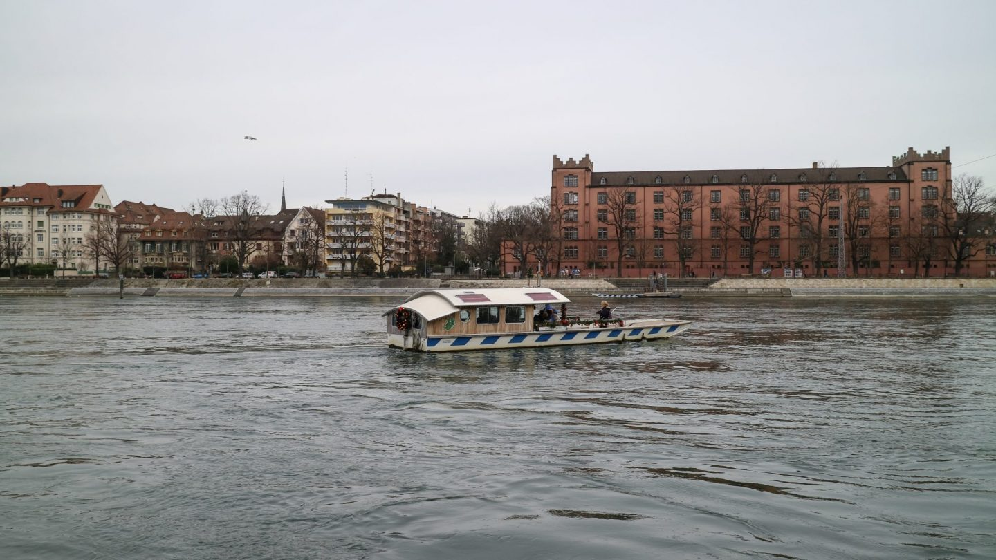 Basel Ferry, Switzerland
