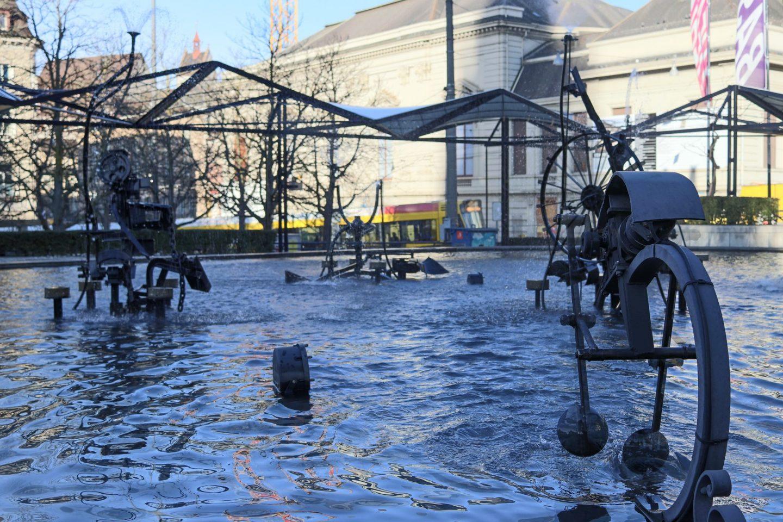 Fountain in Basel, Switzerland