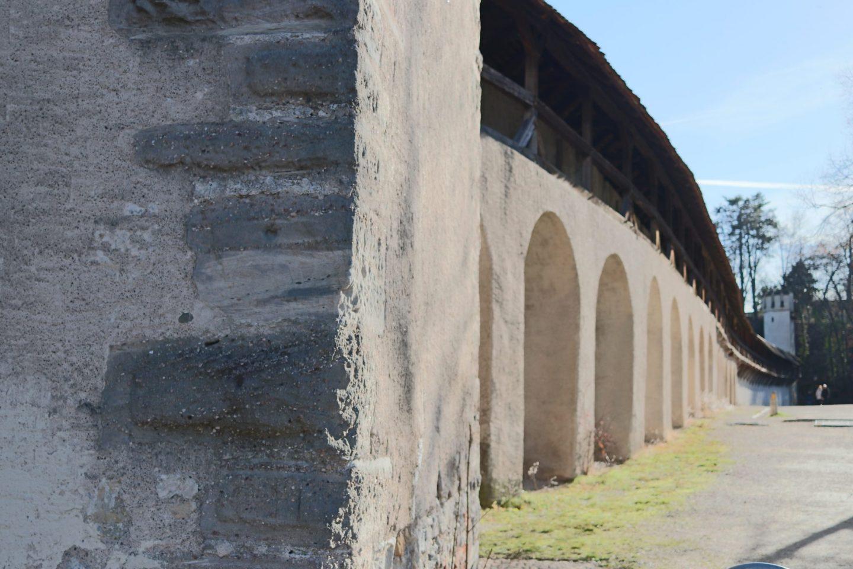 Basel City Walls, Switzerland