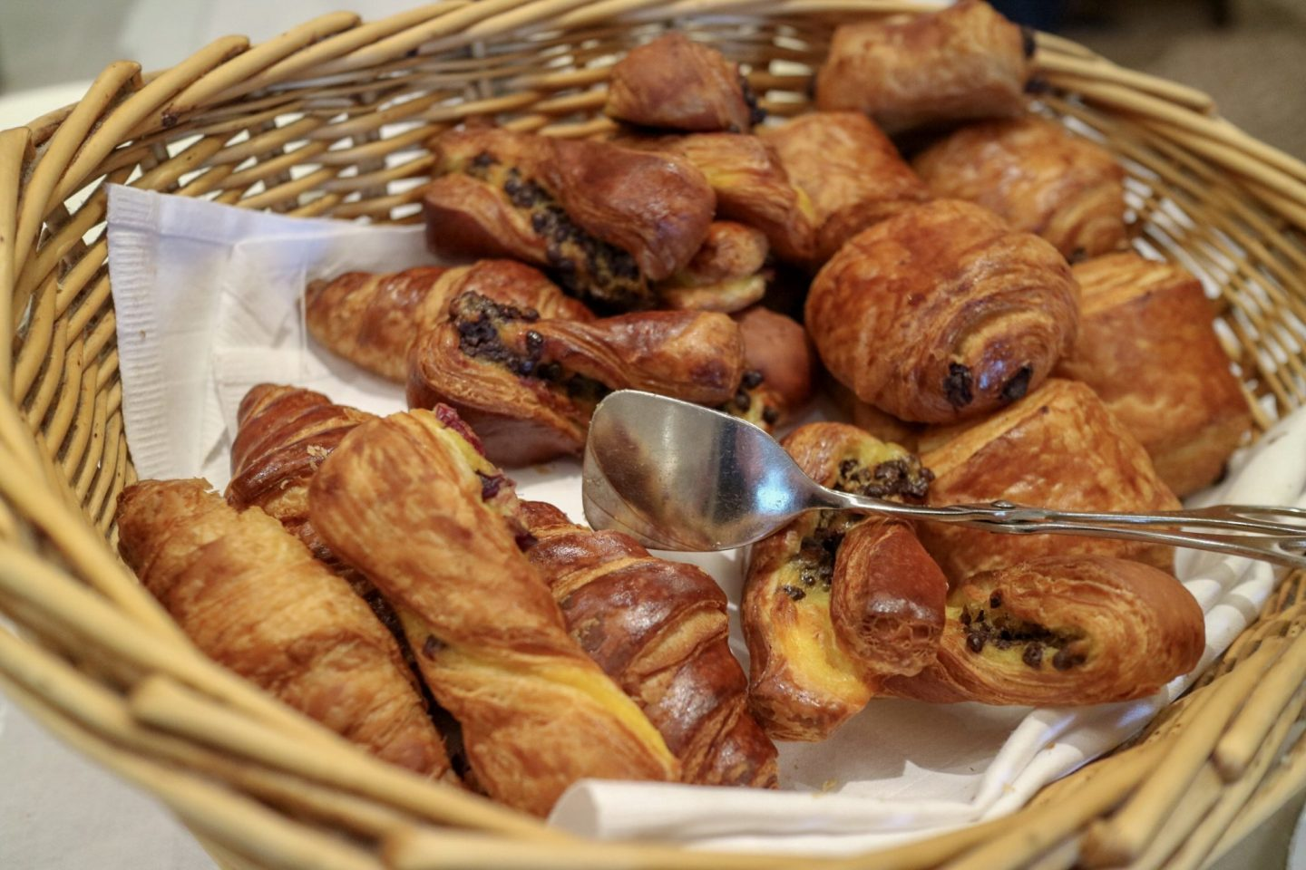 Pastries at Devonshire Arms & Spa