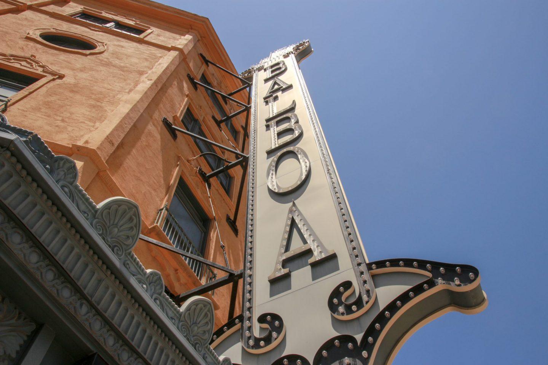 Balboa Theatre, Gaslamp Quarter, San Diego