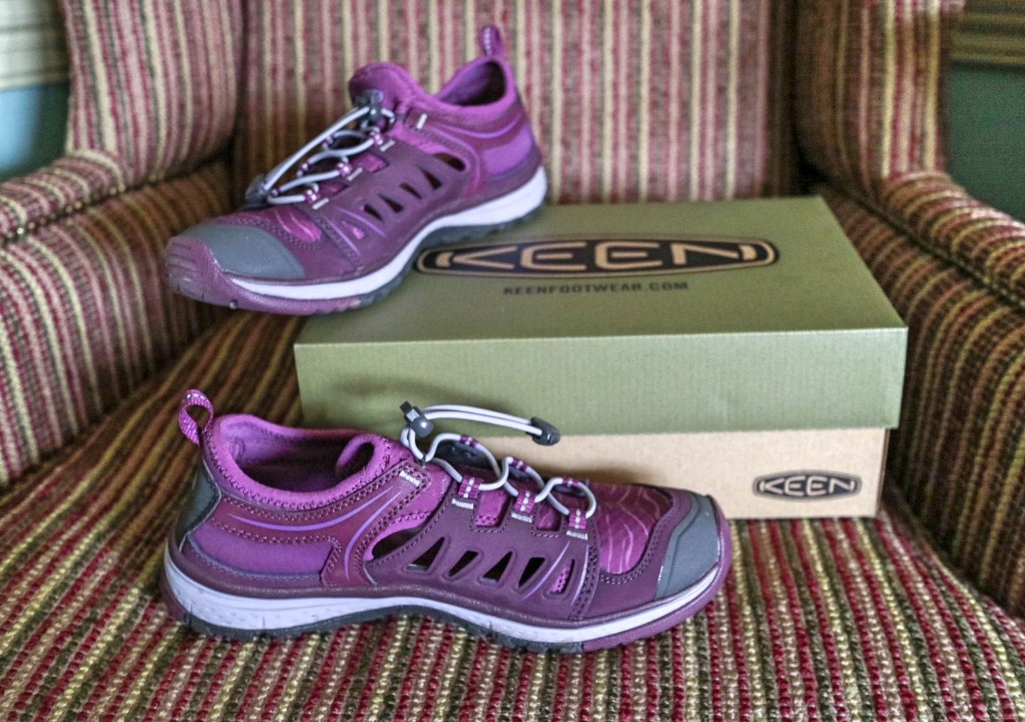 KEEN WOMEN'S TERRADORA ETHOS HIKING TRAINERS