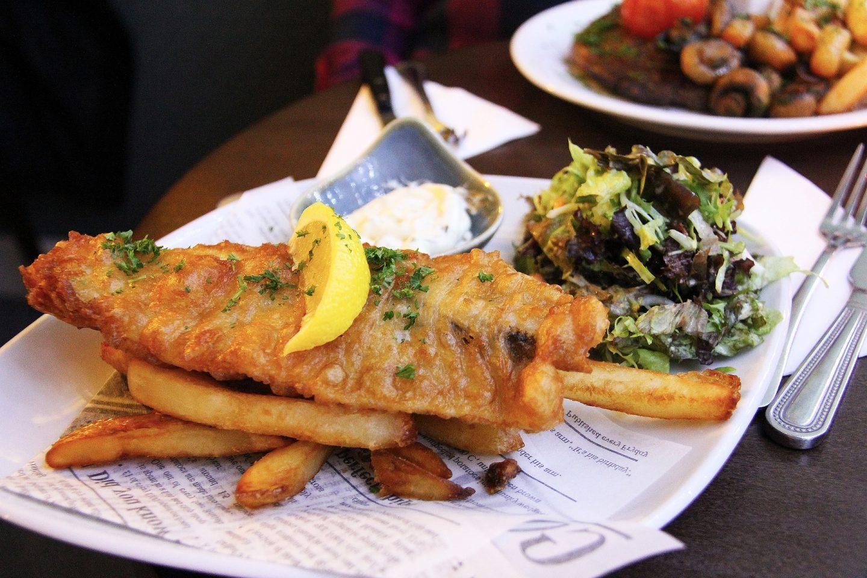 Fish & Chips, London, UK