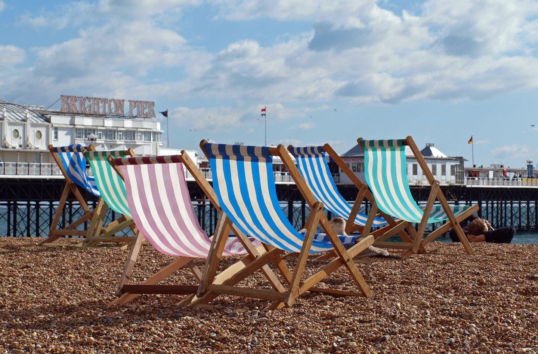 Brighton Beach Sun Loungers