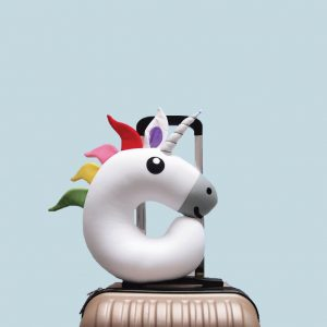 Unicorn Travel Pillow from bNifty