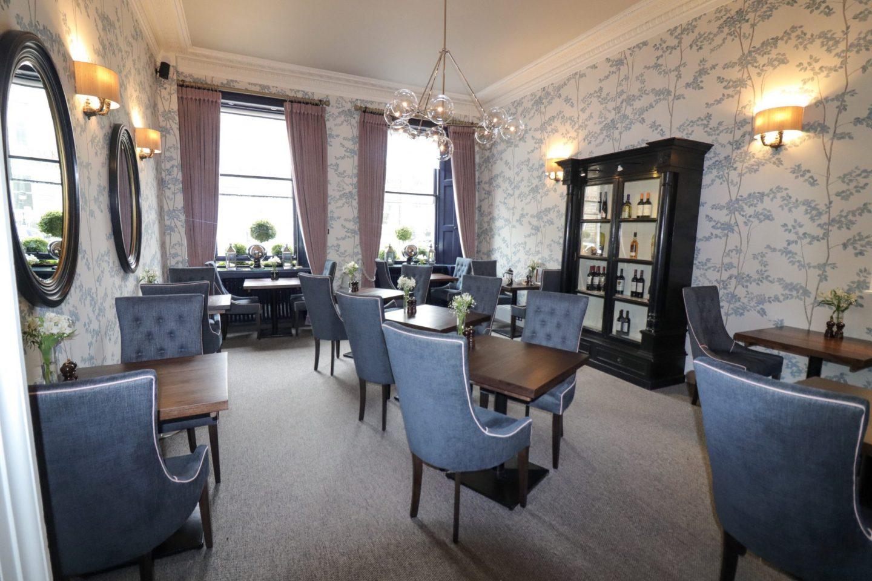 Restaurant at Nira Caledonia, Edinburgh