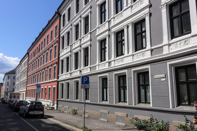 Street in Grünerløkka, Oslo
