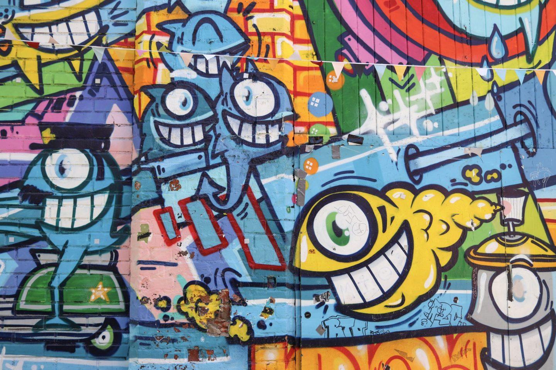 Street Art, Grünerløkka, Oslo, Norway