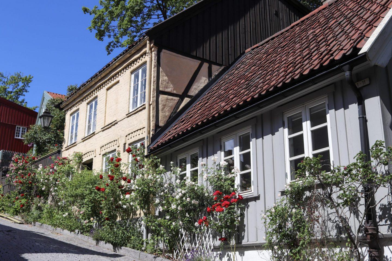 House in Grünerløkka, Oslo, Norway