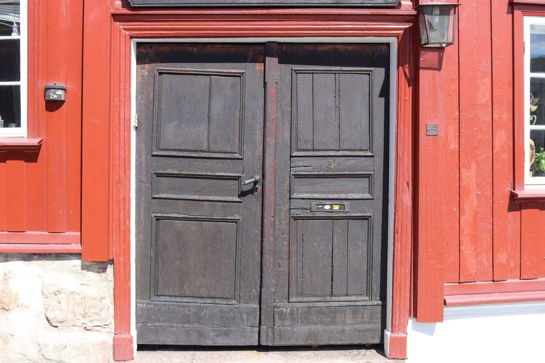 Door in Grünerløkka, Oslo