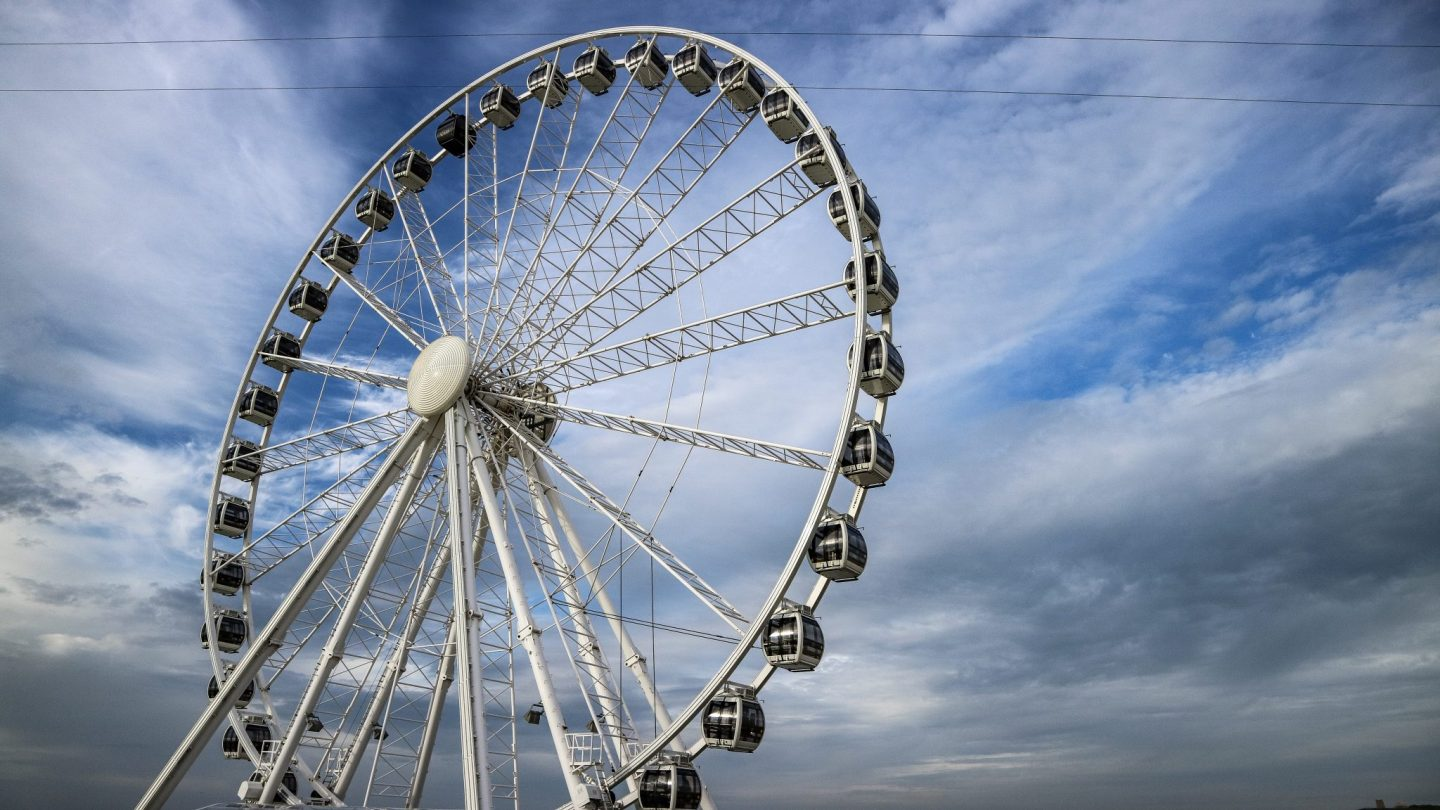 Ferris Wheel at Scheveningen, The Hague, The Netherlands