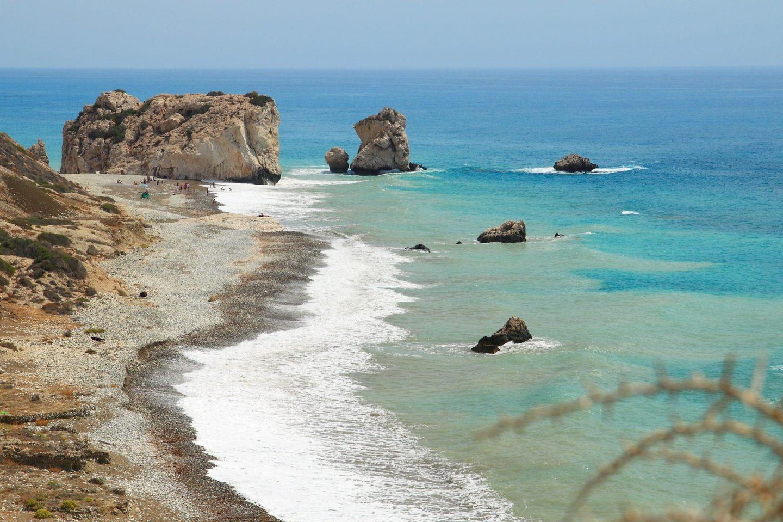 Aphrodite Rock, Paphos, Cyprus