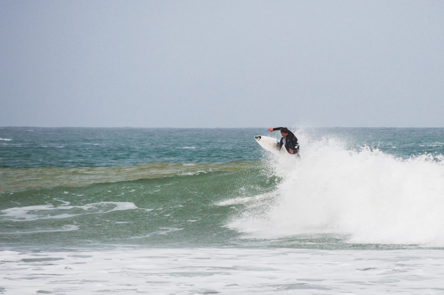 Surfing in Cornwall, UK