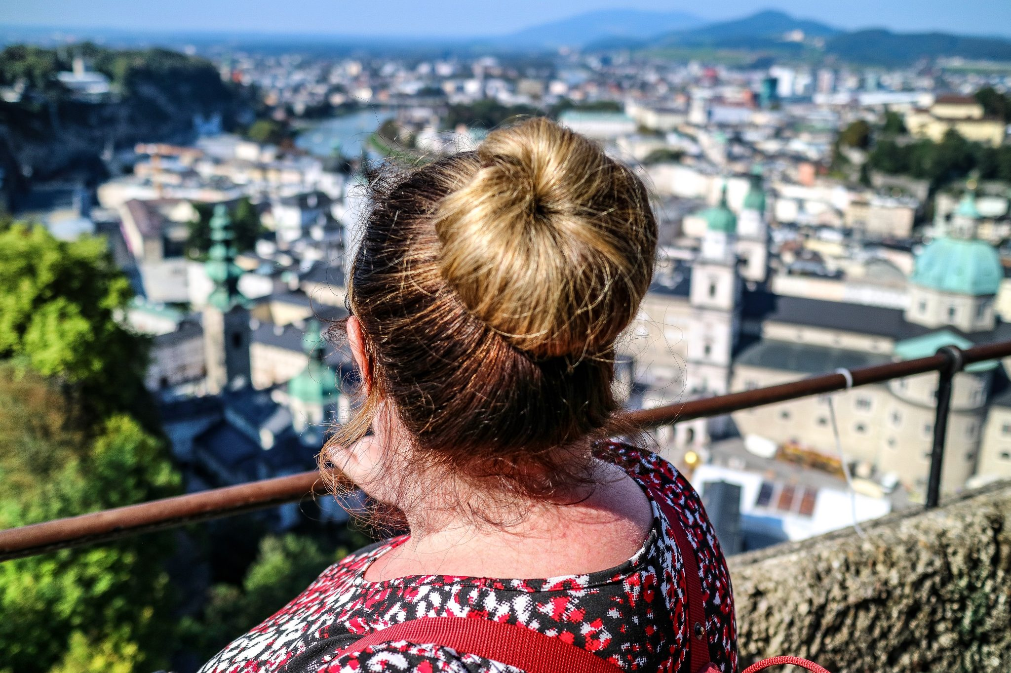 Vicky in Salzburg, Austria