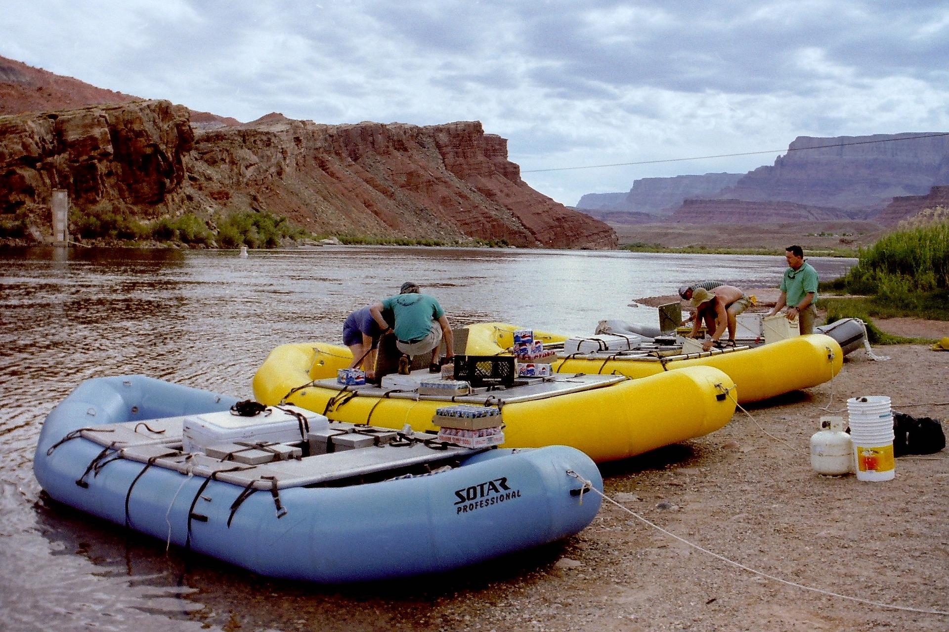 White Water Rafting, Colorado
