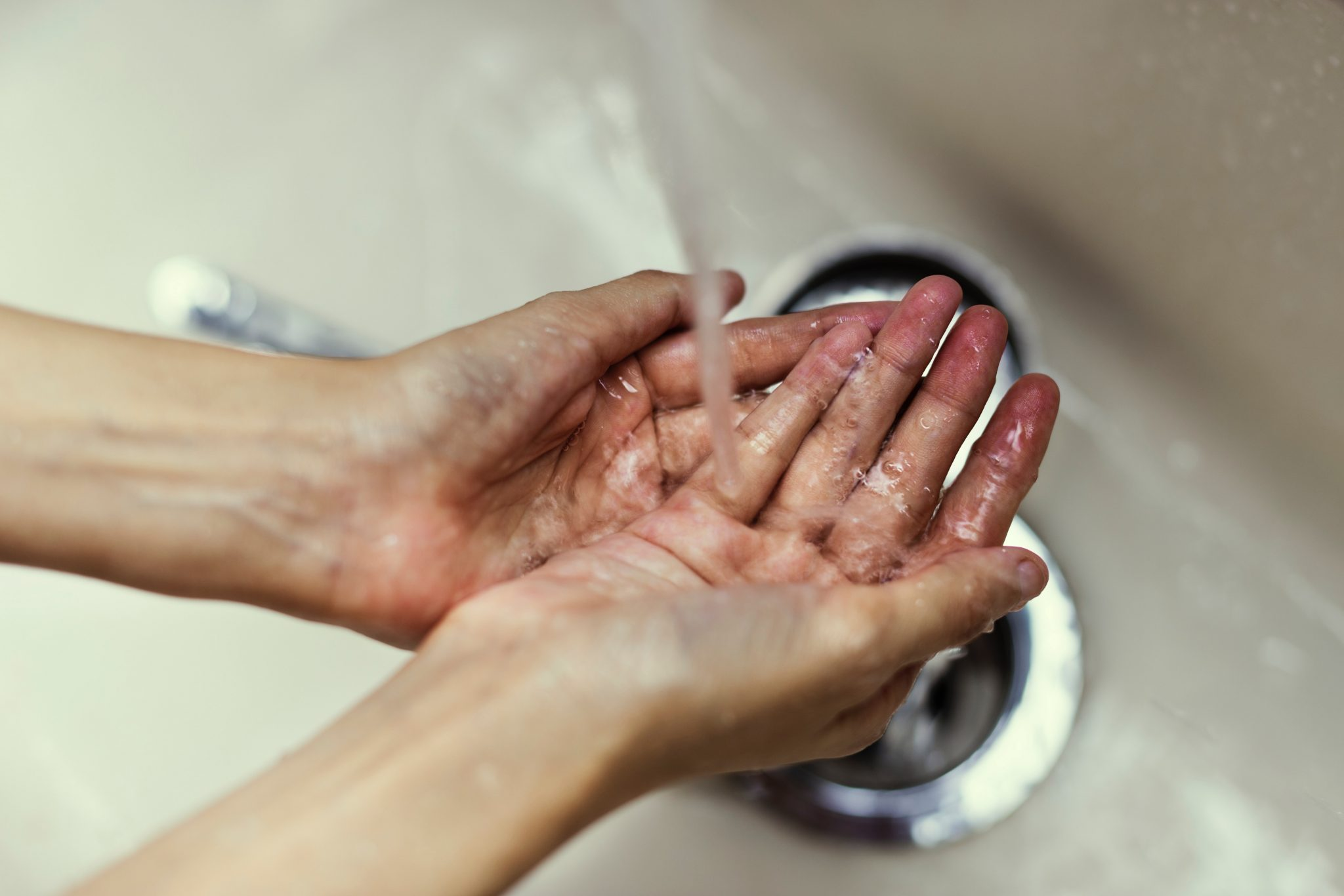 Wash Your Hands When Travelling