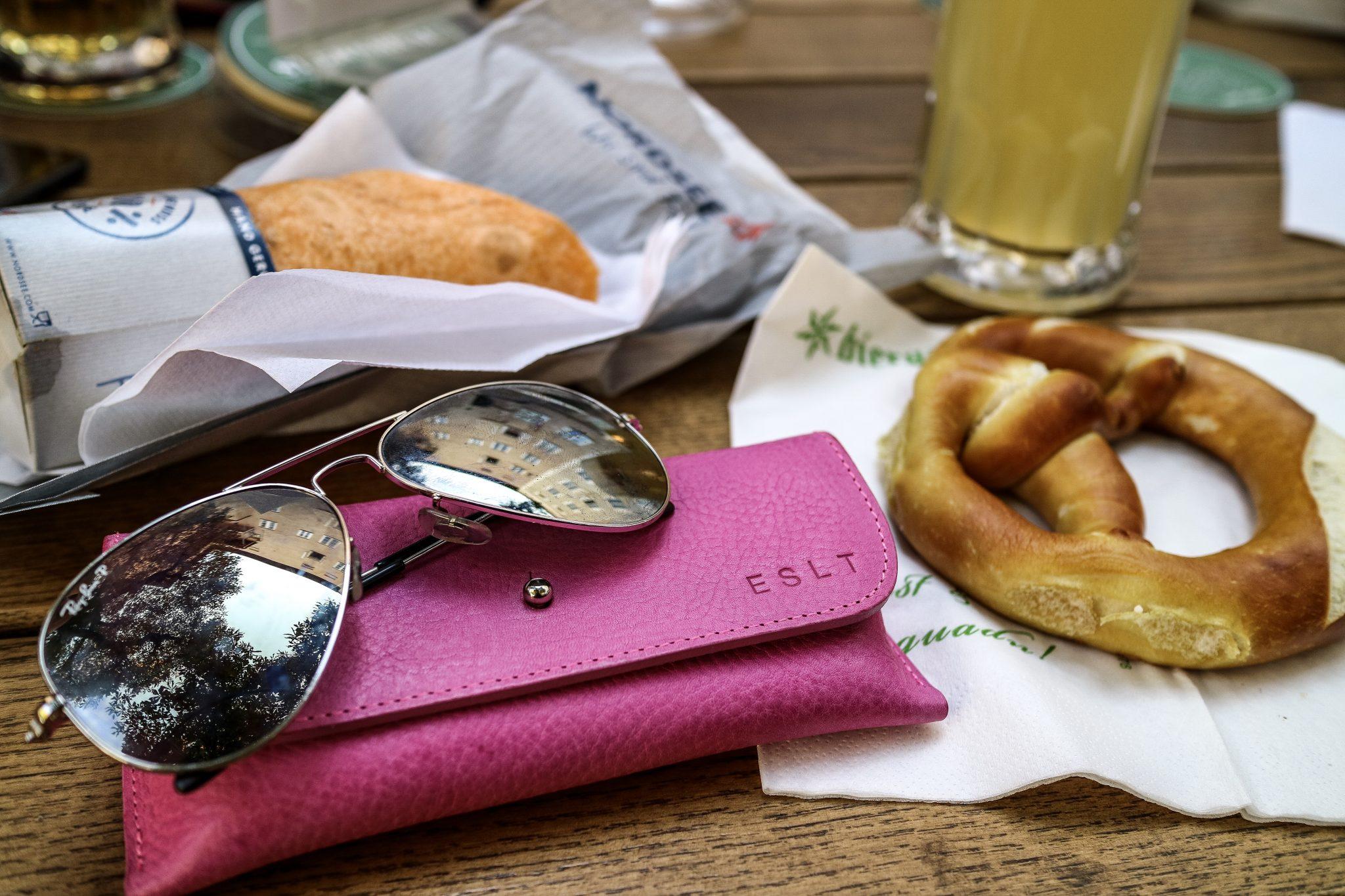 Sunglasses case from British Belt Company