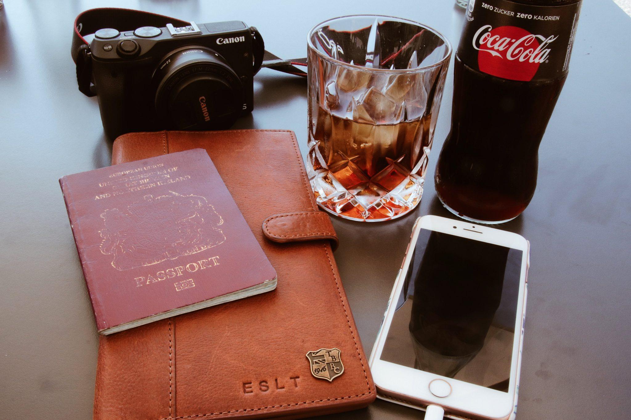 Travel Document Holder from British Belt Company