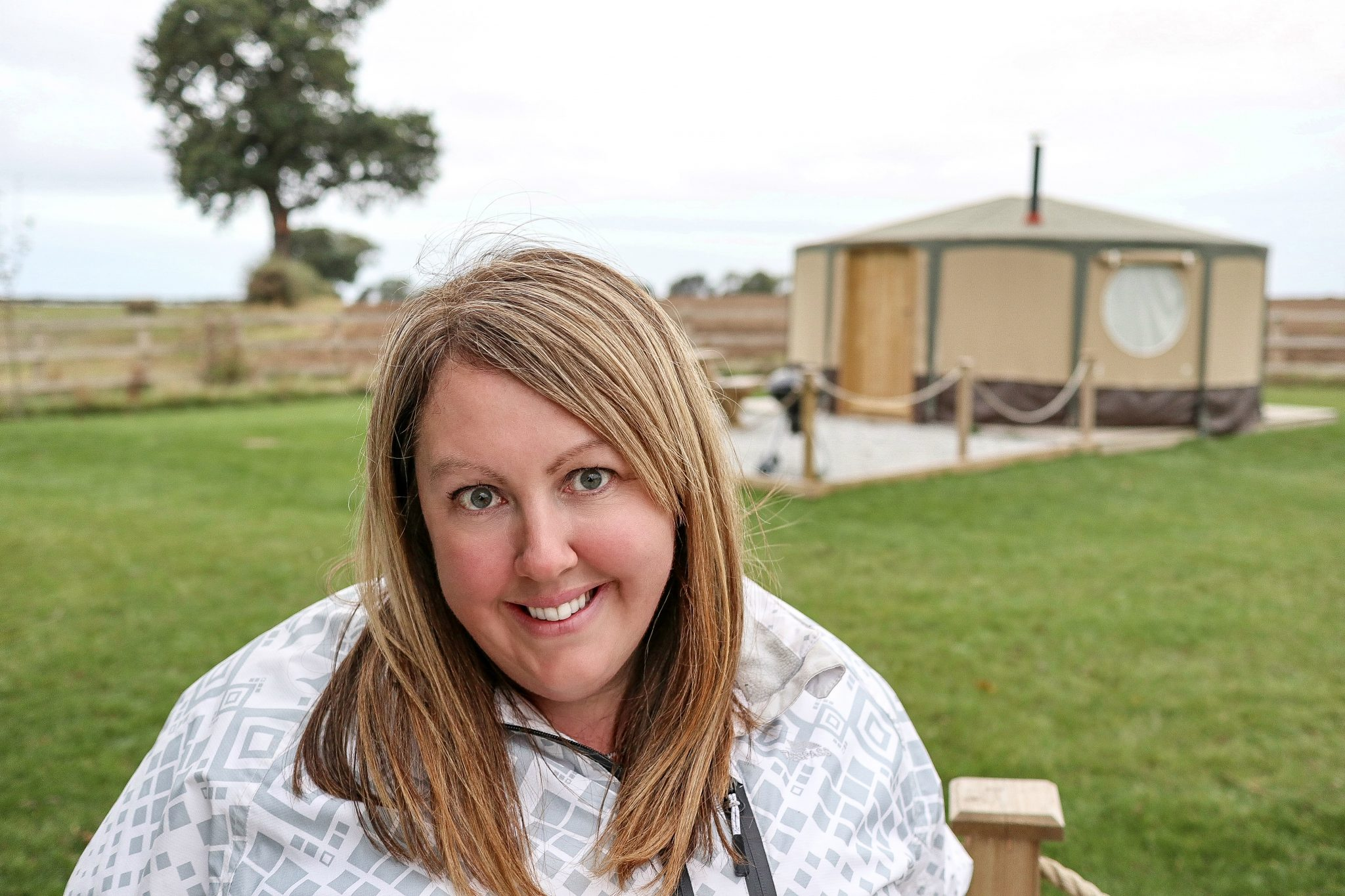 Vicky at Kingfisher Lakes Glamping Site