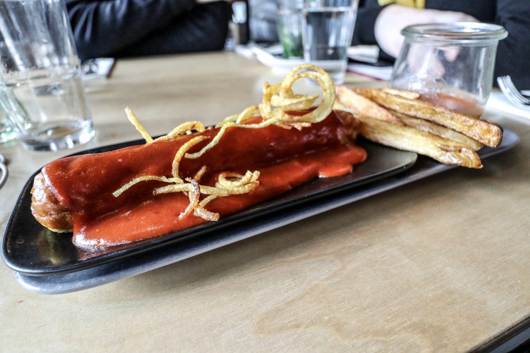 Currywurst, Berlin, Germany