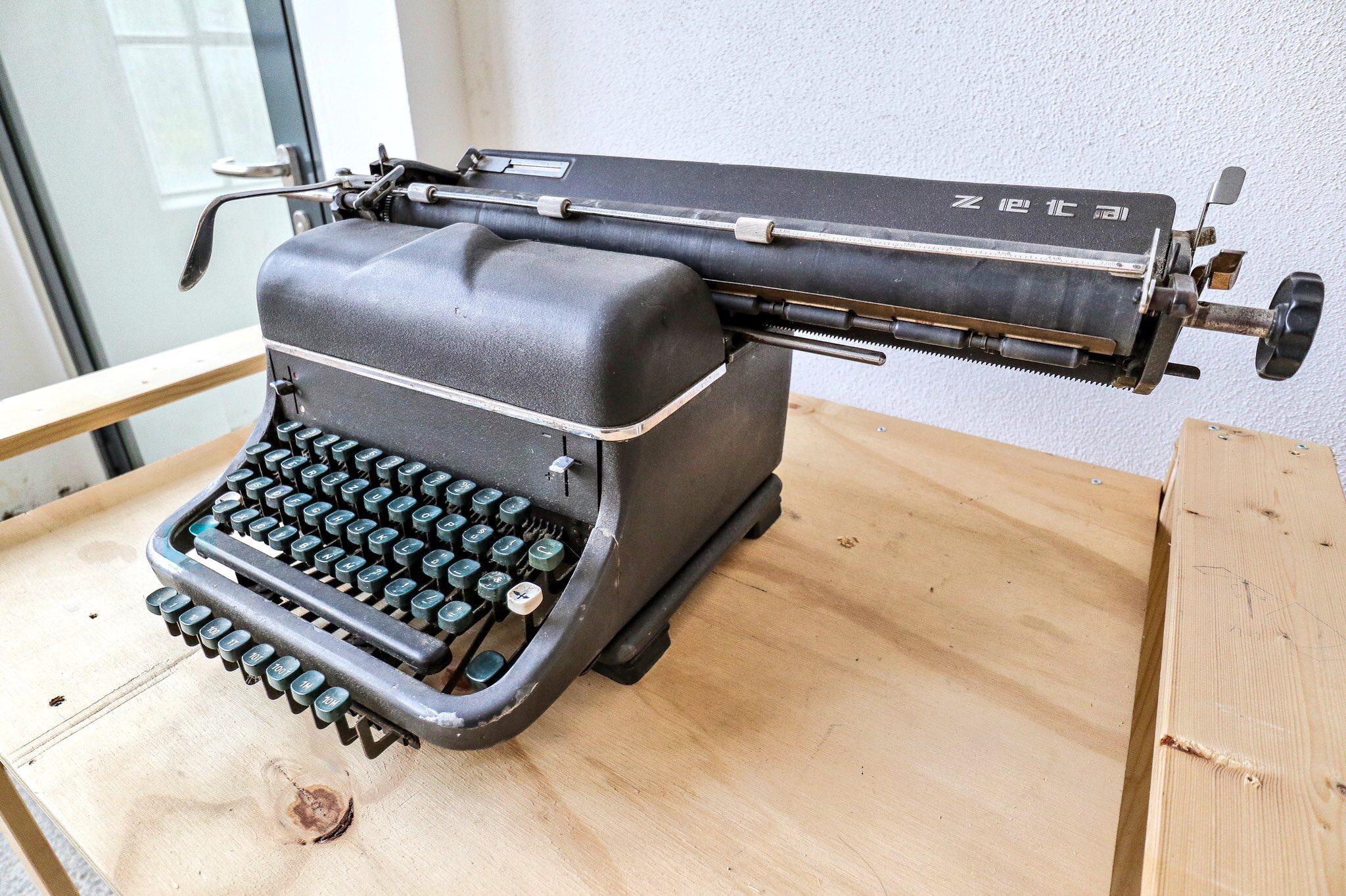 Bauhaus Typewriter, Germany