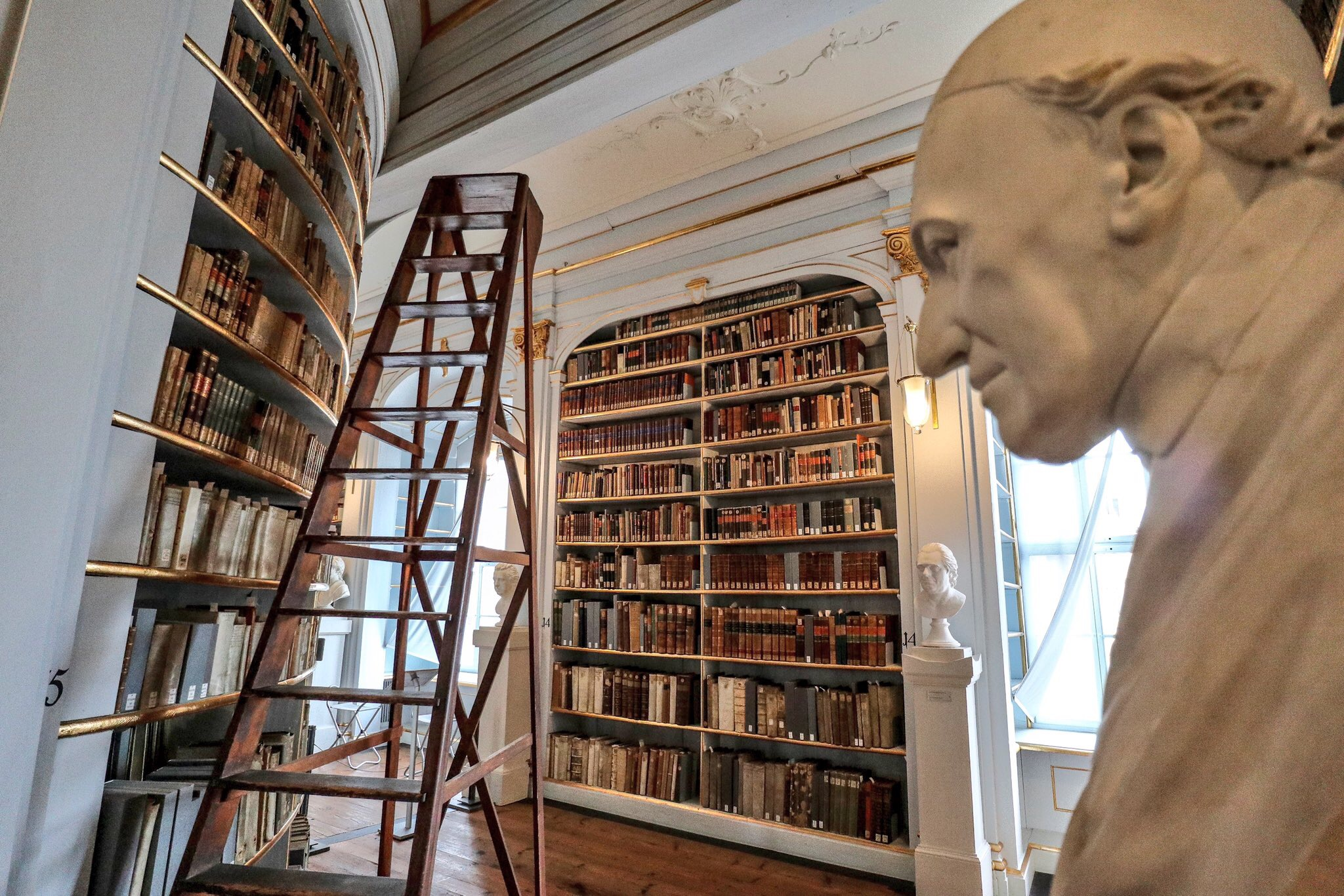 Duchess Anna Amalia Library in Weimar, Germany