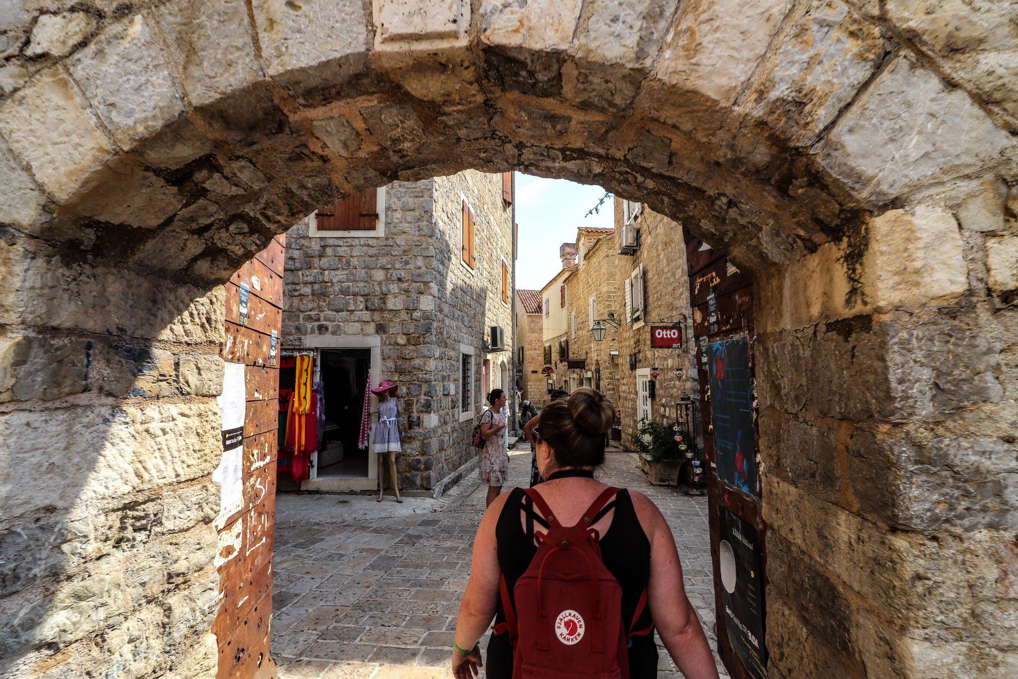 Old Town Budva, Montenegro