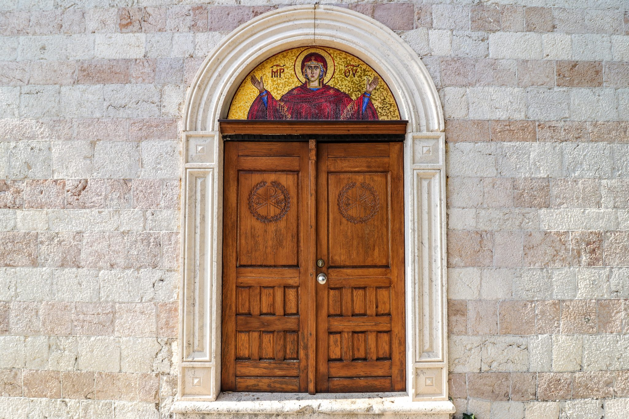 Church Door, Budva, Montenegro