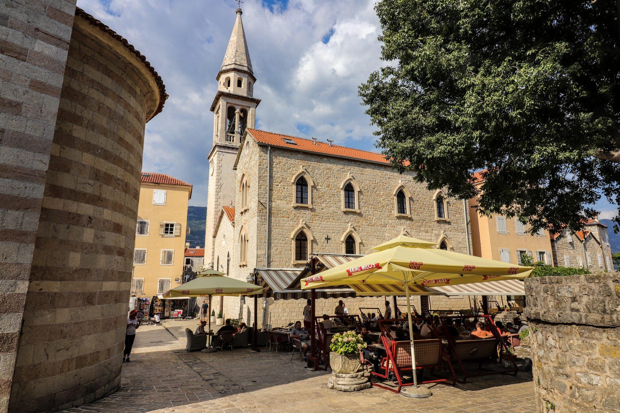 Church Old Town Budva, Montenegro
