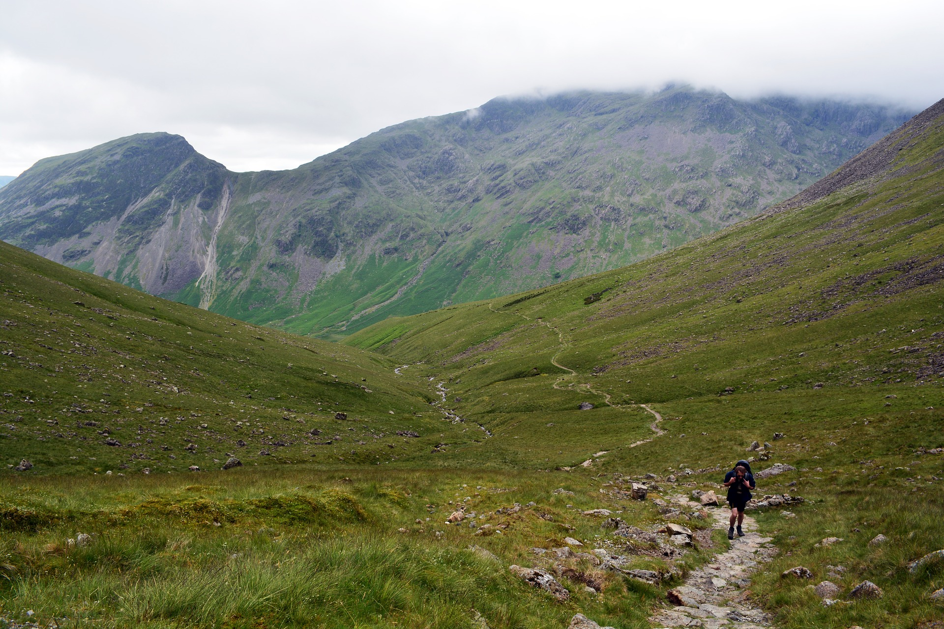Hiking In The Lake District, England
