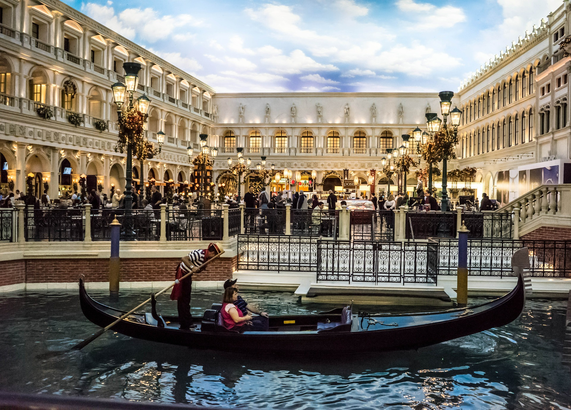 Gondola Ride at The Venetian, Las Vegas, USA