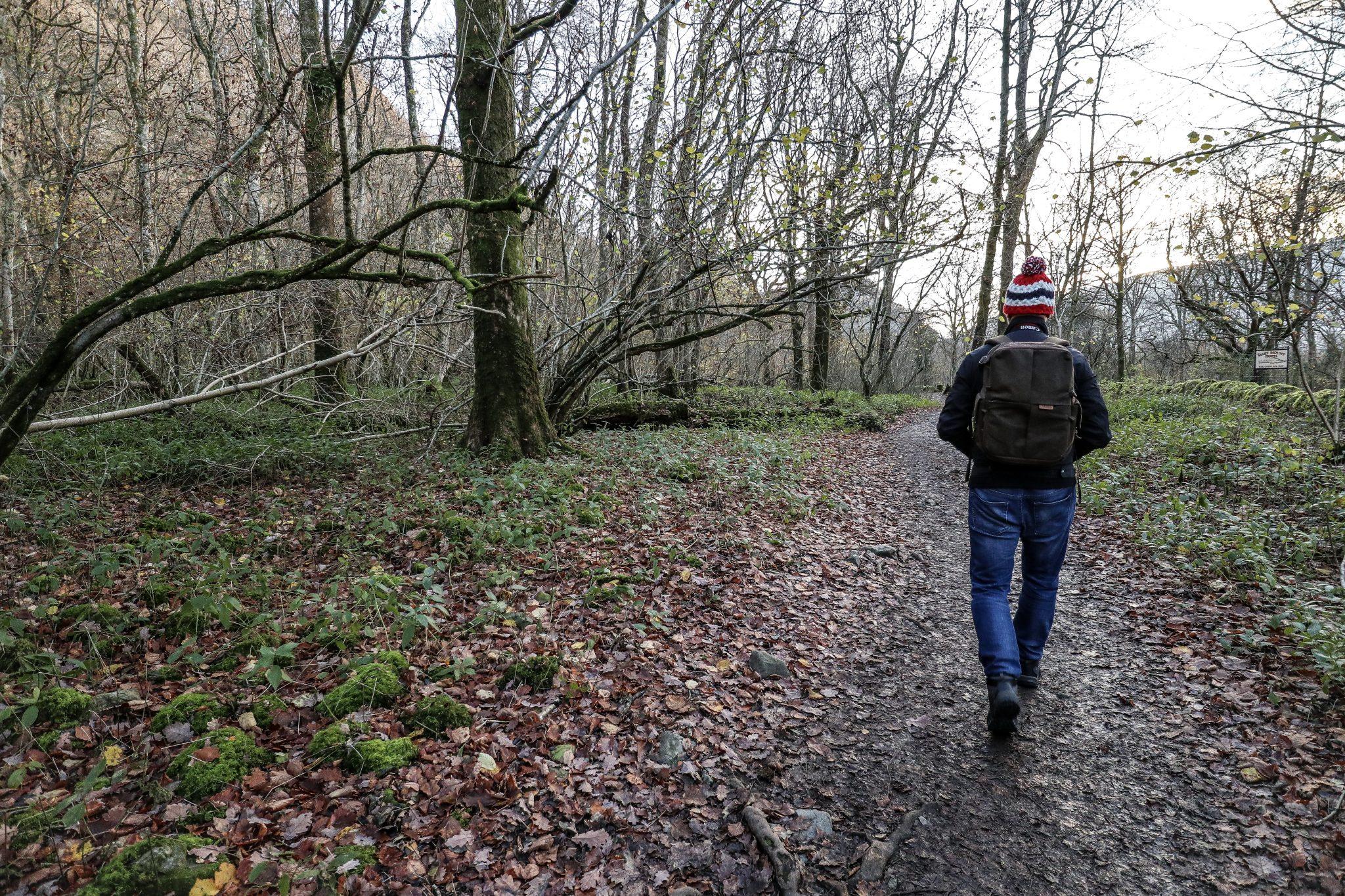 Walking by Derwentwater, The Lake District